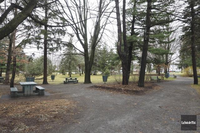 Le parc Pelletier devrait être revampé à l'été... (Alain Dion, La Voix de l'Est)