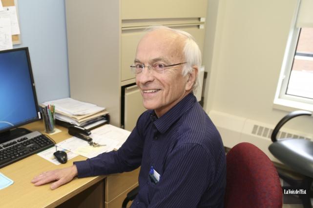 Dr Gilles Jodoin conclura sa carrière de 45ans... (Janick Marois, La Voix de l'Est)