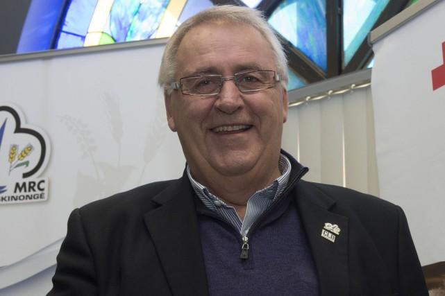 Robert Lalonde, préfet de la MRC de Maskinongé....
