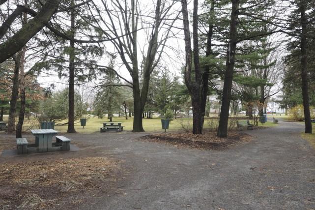 Le parc Pelletier devrait être revampé à l'été... (photo Alain Dion)