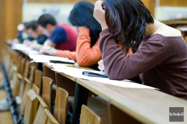 Oubliez l'objectif de la réussite scolaire. Si le... (Photothèque Le Soleil)