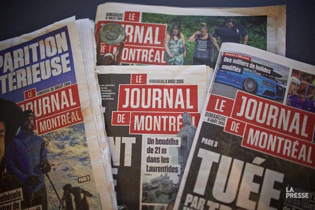Le Syndicat des travailleurs de l'information duJournal de Montréal... (Photo André Pichette, La Presse)