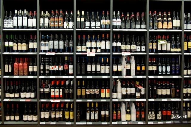 Les volumes de ventes des vins ont avancé... (Photothèque Le Soleil)