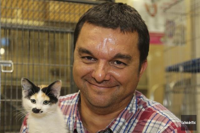 Le directeur de la Société protectrice des animaux... (Archives La Voix de l'Est)