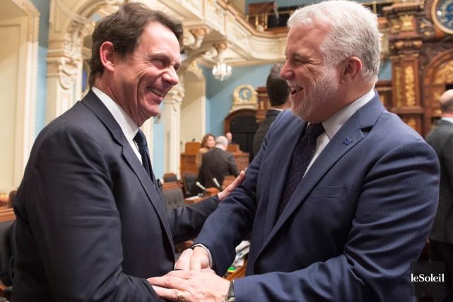Même si le bilan libéral a été torpillé... (Photothèque Le Soleil, PC, Jacques Boissinot)