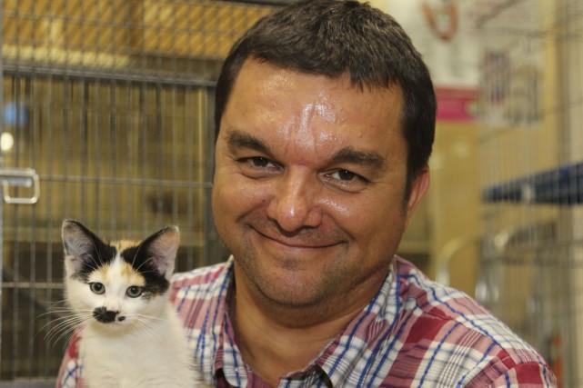 Le directeur de la Société protectrice des animaux... (Photo Archives La Voix de L'Est)