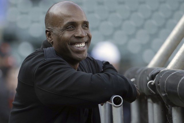 Barry Bonds est officiellement devenu l'instructeur des frappeurs... (Archives Associated Press)