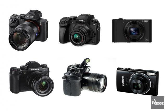De la petite caméra facile à transporter qui fait juste un peu mieux que celle... (PHOTOMONTAGE LA PRESSE)