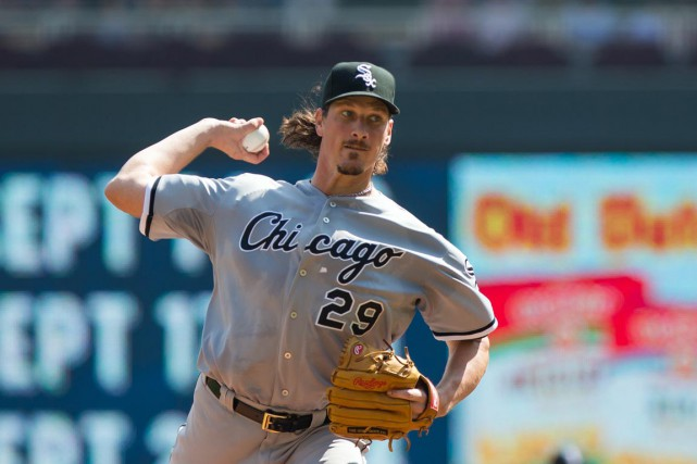 Jeff Samardzija... (Photo Brad Rempel, USA TODAY Sports)