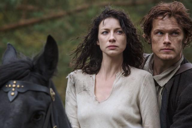 La série Outlander:Le chardon et le tartan sera... (PHOTO FOURNIE PAR ICI RADIO-CANADA)