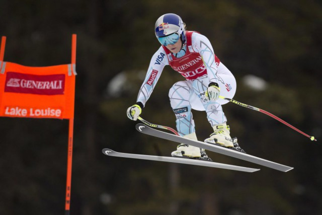 Lindsey Vonn... (PHOTO FRANK GUNN, PC)