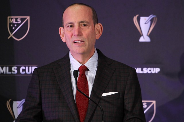 Le commissaire de la MLS, Don Garber... (PHOTO JASON MOWRY, USA TODAY)