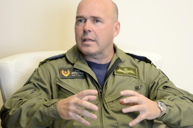 Le commandant de la 2e Escadre de Bagotville,... (Photo Le Progrès-Dimanche, Jeannot Lévesque)