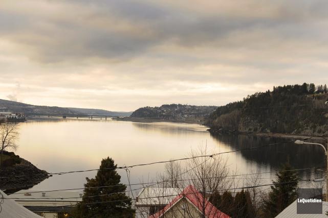 Le Saguenay avait pris des airs de printemps... (Photo Le Quotidien, Mariane L. St-Gelais)