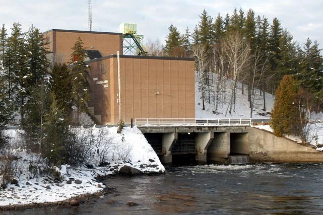 La centrale Jim-Gray est située sur la rivière... (Archives Le Progrès-Dimanche)