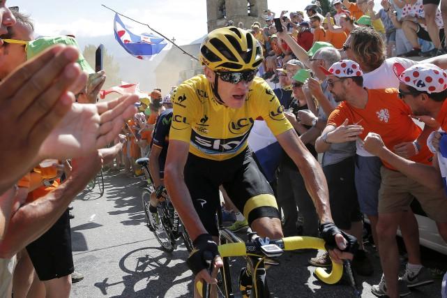 La deuxième victoire de Chris Froome au Tour... (Archives AP, Laurent Cipriani)