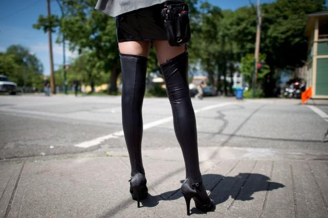 80 % des prostituées sont des femmes et... (La Presse Canadienne, Jonathan Hayward)
