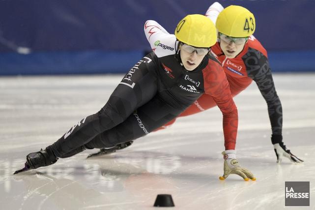 La patineuse de vitesse Marianne Saint-Gelais... (Archives La Presse)