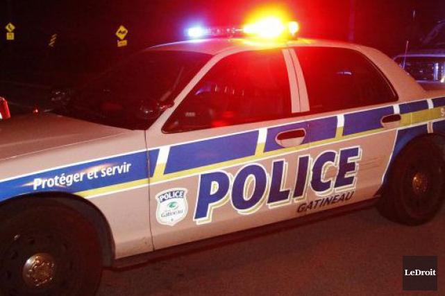 Service de police de la Ville de Gatineau... (Simon Séguin-Bertrand, Archives LeDroit)