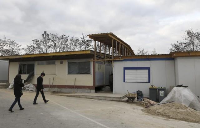 La fermeture de la salle de prière de... (PHOTO THOMAS SAMSON, AFP)