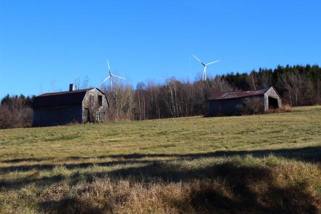 Les touristes pourront visiter le parc éolien de... (Courtoisie)