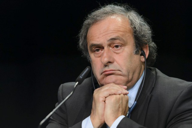 Michel Platini a été accusé en lien à un... (PHOTO FABRICE COFFRINI, ARCHIVES AFP)