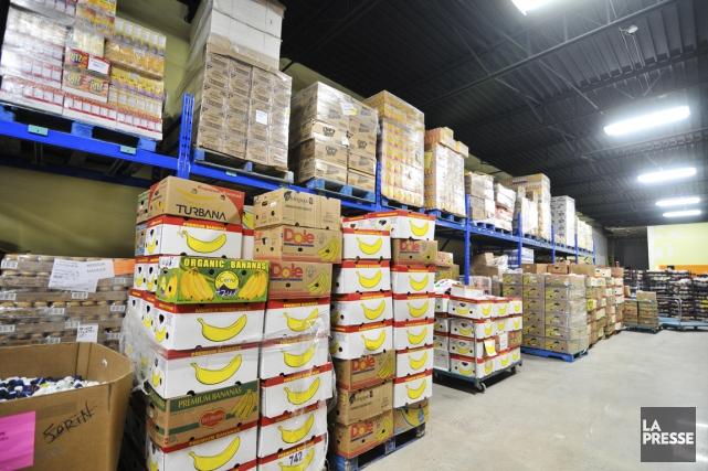 Les banques alimentaires annoncent une hausse continue de... (Photo d'archives)