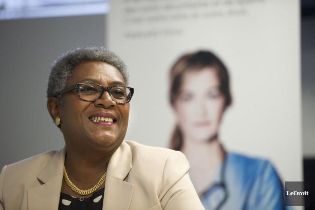 Régine Laurent,la présidente de la Fédération interprofessionnelle de... (Martin Roy, Archives LeDroit)