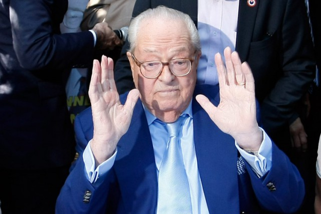 Jean-Marie Le Pen... (Archives AP)