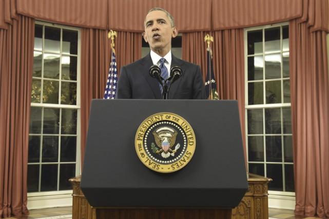 «Nous allons détruire le groupe État islamique et... (PHOTO REUTERS)