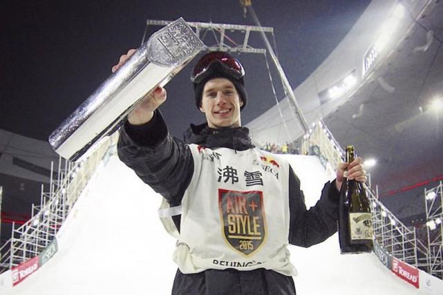 Maxence Parrot a remporté la première étape de... (Tirée de Facebook)