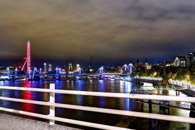Le pont de Waterloo offre une vue saisissante... (PHOTO THINKSTOCK)