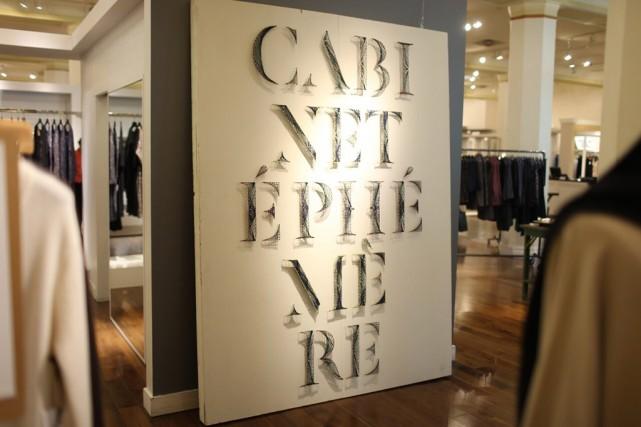 Cabinet Éphémère - 5e édition à la Maison... (PHOTO FOURNIE PAR OGILVY)
