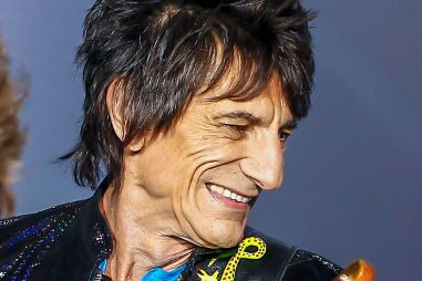 Ron Wood... (PHOTO ARCHIVES AFP)