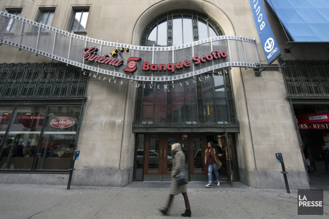 Le Cinéma Banque Scotia... (PHOTO ROBERT SKINNER, LA PRESSE)