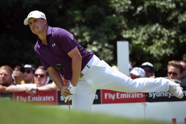 Jordan Spieth a remporté cinq titres en 2015, dont... (Photo William West, AFP)