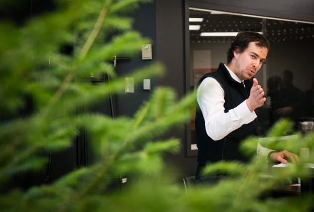 Dany Senay, directeur de Forêt Hereford... (Spectre Média, Jessica Garneau)