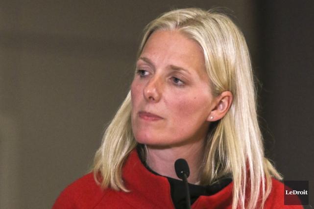 La ministre de l'Environnement, Catherine McKenna.... (PHOTO ARCHIVES, LE DROIT)