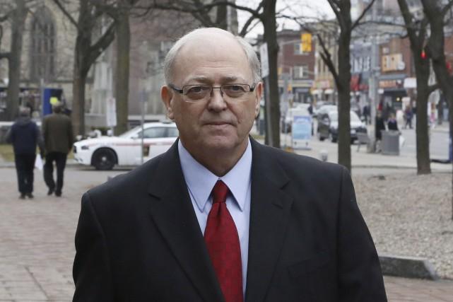 Le nouveau président du Sénat George Furey ne... (La Presse Canadienne)
