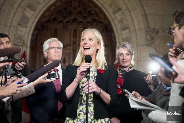 Nouvelle venue sur la scène politique, Catherine McKenna... (Photothèque Le Soleil)