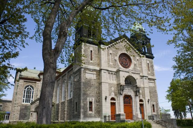 Église Sainte-Cécile... (Archives)