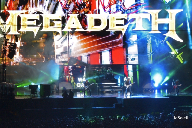 Megadeth sur les Plaines... (Photothèque Le Soleil, Yan Doublet)