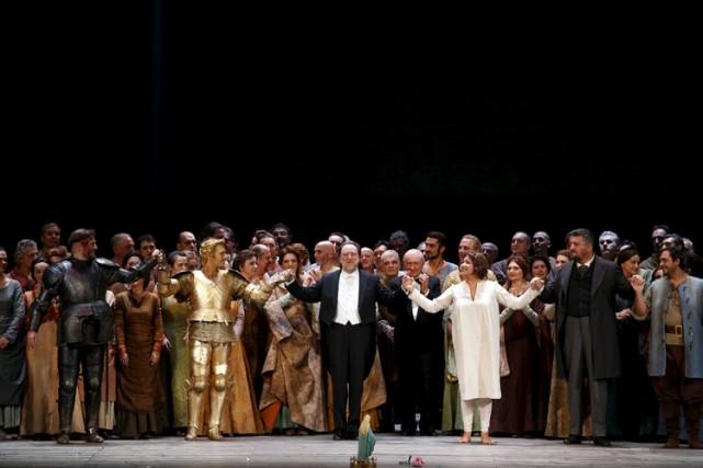 Jeanne d'Arcest la septième oeuvre de Verdi et... (PHOTO REUTERS)