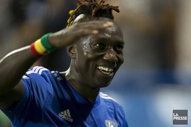 L'attaquant Dominic Oduro a reçu un nouveau contrat.... (Olivier Jean, La Presse)