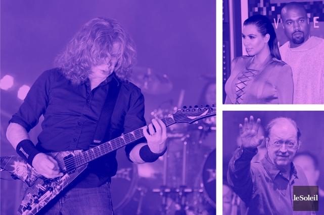 Megadeth reviendra à Québec (Infographie Le Soleil)
