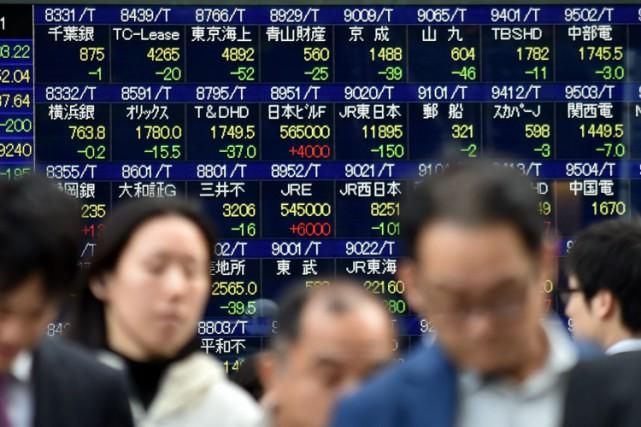 Le produit intérieur brut (PIB) du Japon a augmenté de 0,3% au troisième... (ARCHIVES AFP)