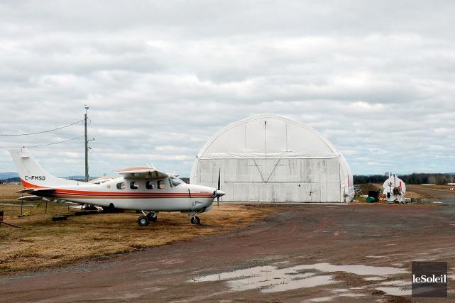Les propriétaires de l'aérodrome de Pintendre ont porté... (Photothèque Le Soleil, Erick Labbé)
