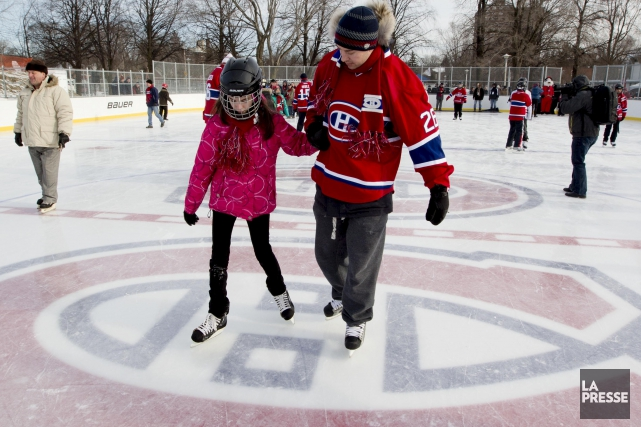 Une patinoire réfrigérée sera aménagée au parc Alfred-Élie-Dufresne,... (Archives, La Presse)
