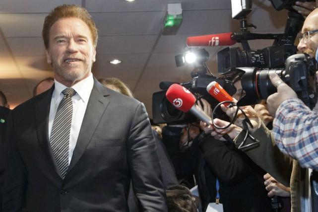 Arnold Schwarzenegger... (PHOTO MICHEL EULER, ASSOCIATED PRESS)