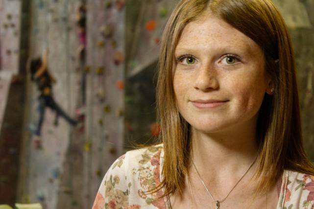 Khloé, 14 ans, participante de la série documentaire... (PHOTO FOURNIE PAR MOI&CIE)